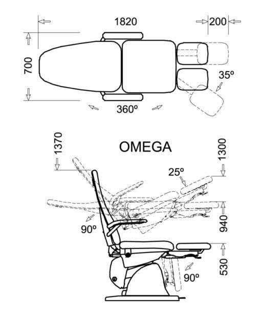 fotel omega 6